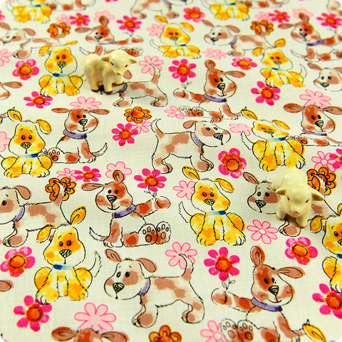 My Fabric House | Buy Cotton Fabric Meter Pets Fat Quarter £3.25