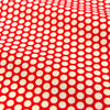 Polka dots - red & white 6mm spotty cotton fabric FQ1506-09