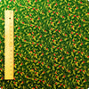 Christmas - green holly leaf cotton fabric FQ1506-12