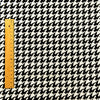 Checks - monochrome black & white hounds-tooth cotton fabric FQ1604-09