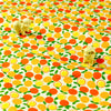 Fruit - orange & yellow petite oranges cotton fabric W:160cm FQ1611-14