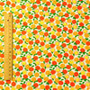 Fruit - orange & yellow petite oranges cotton fabric
