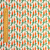 Easter - orange carrots fabric (width: 160cm) cotton fabric