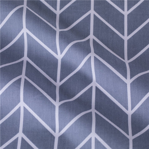 Geometric - blue arrow prints cotton fabric W:160cm FQ2102-09