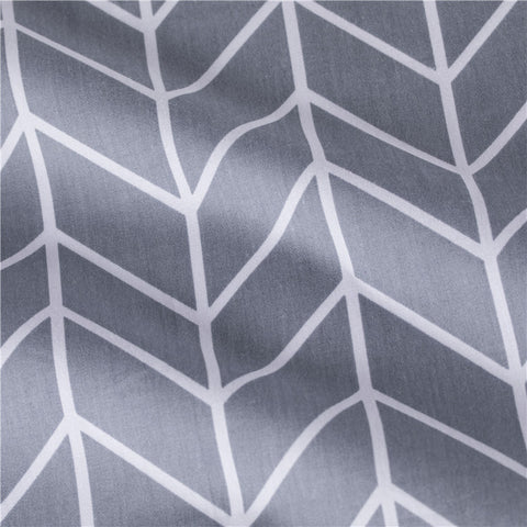 Geometric - grey monochrome arrow prints cotton fabric W:160cm FQ2102-10