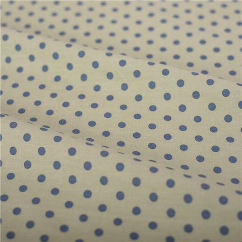 Polka dots - grey mm spots cotton fabric W:160cm FQ2102-13