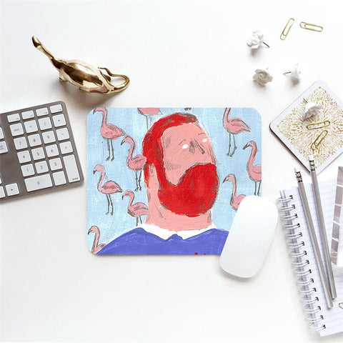 MFH LAB - blue & red Van Gogh 23x20cm mouse pad MP2101-13