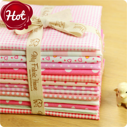 Buy cotton fabric - pink Fabric Bundle £13.99 | My Fabric House