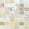 Lucky dip - 25x25cm - random fabric bundle - light colours