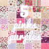 Lucky dip - 25x25cm - random fabric bundle - bouquet