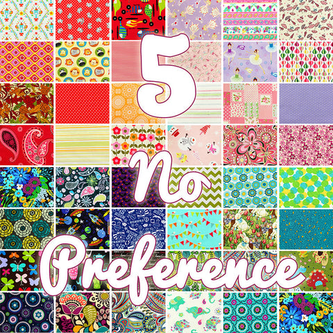 Lucky dip - 25x25cm - random fabric bundle - no preference