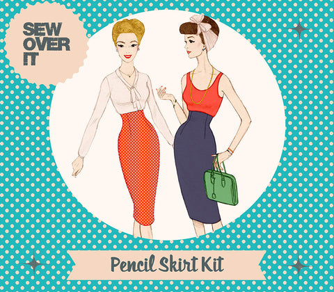 Sew over it - (intermediate level) pencil skirt kit KT1509-04