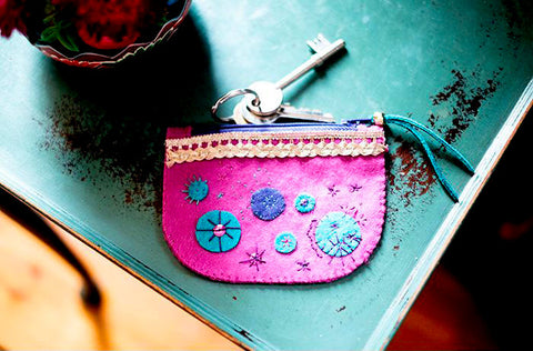 Sew over it - Indian Matchbox Kit - Precious Purse