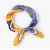 MFH LAB - yellow & purple hair scarf 54x54cm SC2101-02