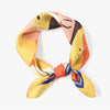 MFH LAB - orange & yellow hair scarf 54x54cm SC2101-07