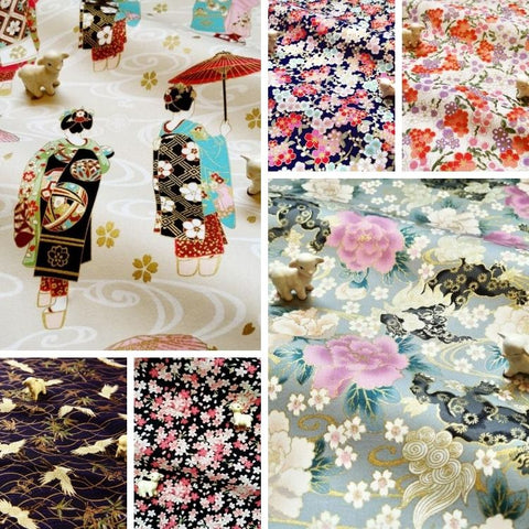 ❤ BACK IN STOCK ❤ August ❤ Japanese Cotton Fabrics