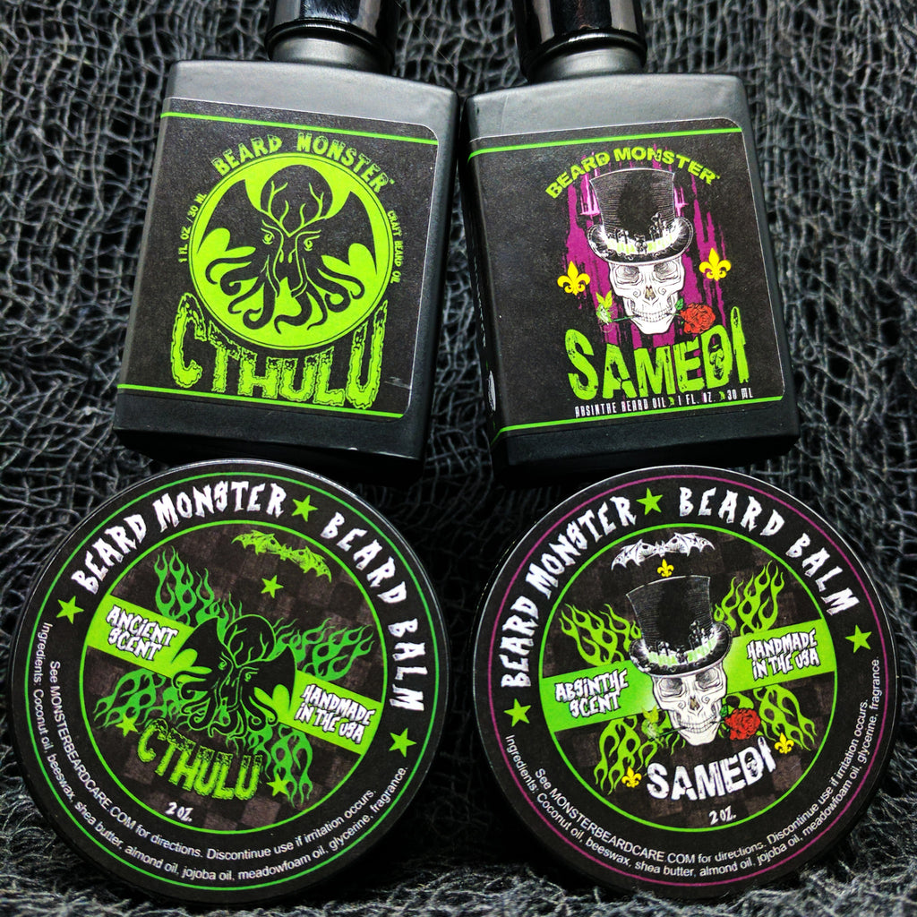 New Beard Oils: Samedi and Cthulu