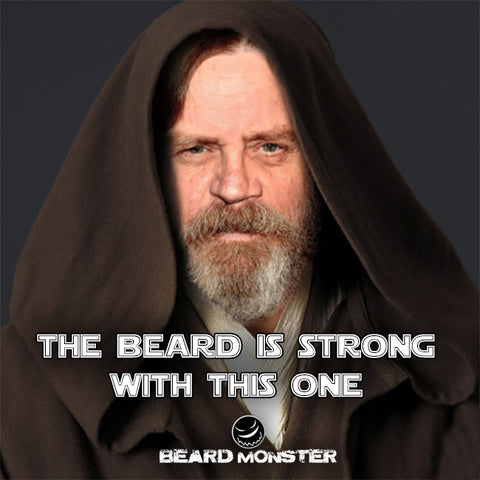 beard strong with this one luke skywalker mark hamil