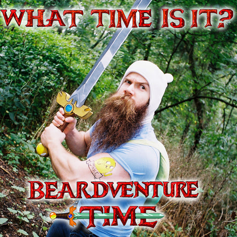 beard adventure time finn