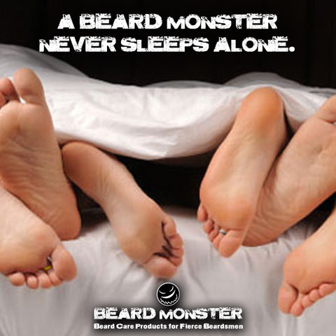 beard feet women sex