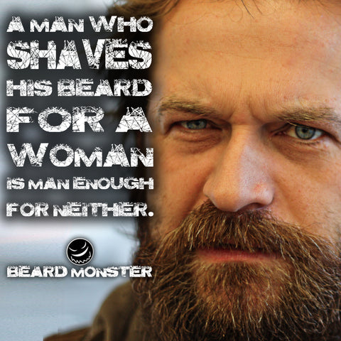 beard women man bearded shaving