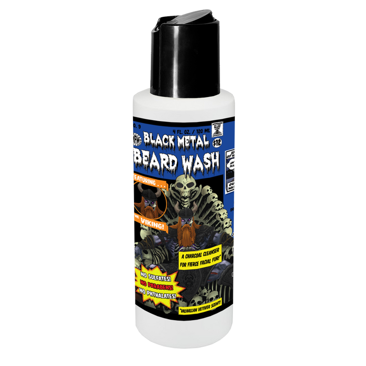 Black Metal Beard Wash
