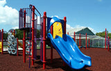 Cedar Red GroundSmart Rubber Mulch Playground