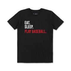 Eat Sleep Play Baseball Tee
