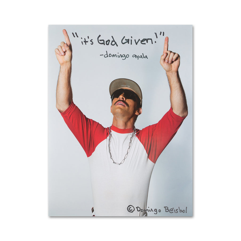 "God Given Poster - 18""x24"""