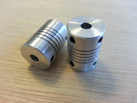 5mm to 5mm flexible shaft coupler