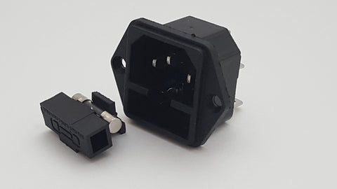 IEC 320 C14 Power Inlet