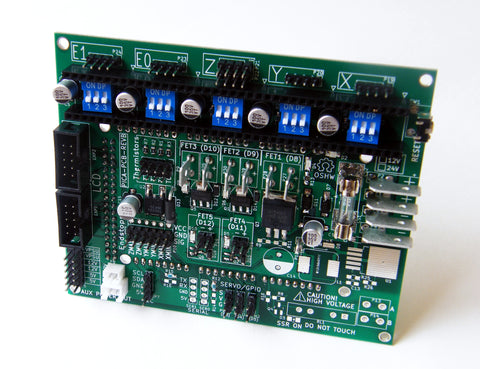 PICA Arduino Mega Shield, assembled