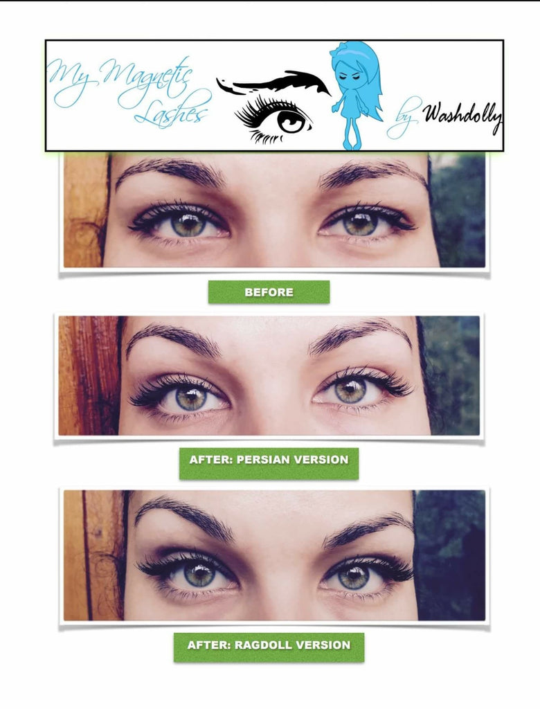 NATURAL LOOKING MAGNETIC LASHES BY WASHDOLLY