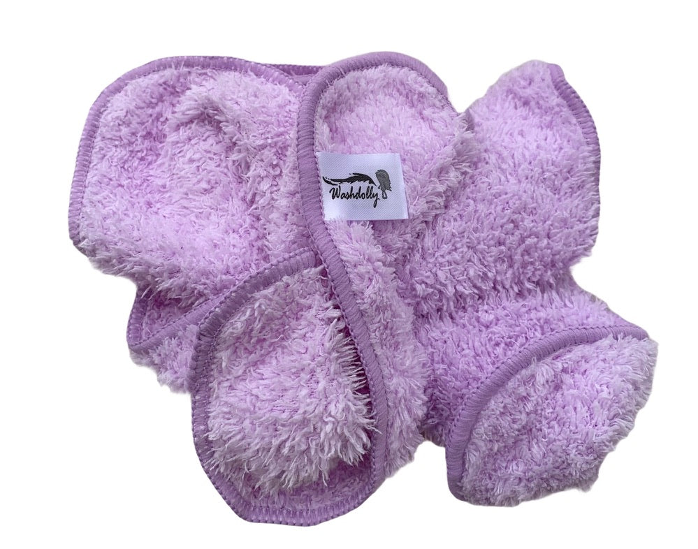 WASHDOLLY MAKEUP REMOVER AND EXFOLIANT CLOTH