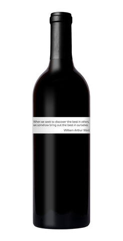 "2017 Bright Fortune Cabernet Franc<br/><br/>Each bottle comes with a Good ""Fortune"""