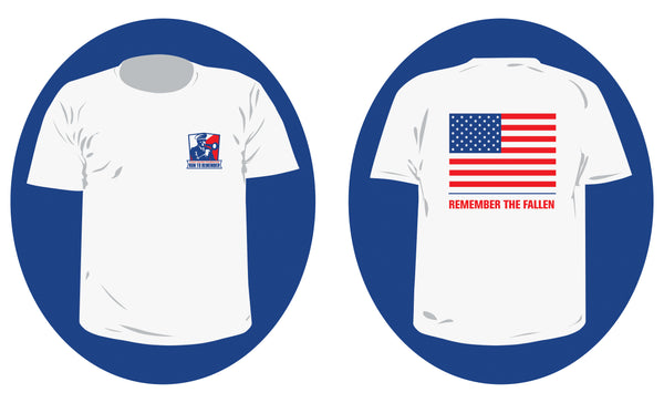2021 Run to Remember T-Shirt - Youth Sizes