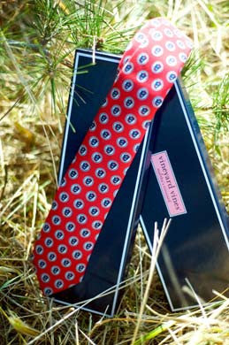 Red Necktie by Vineyard Vines