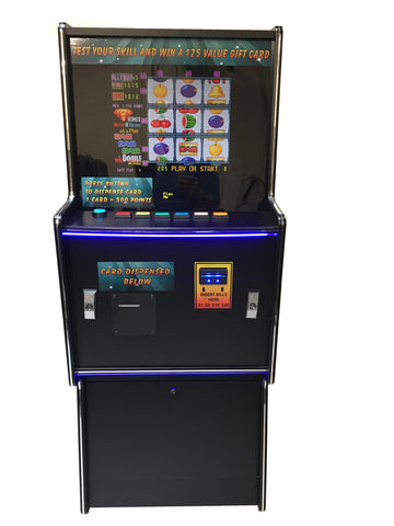 Skill Reels Gift Card Game Cabinet