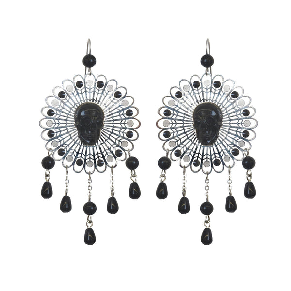 """Five Bells"" Filigree Earrings"