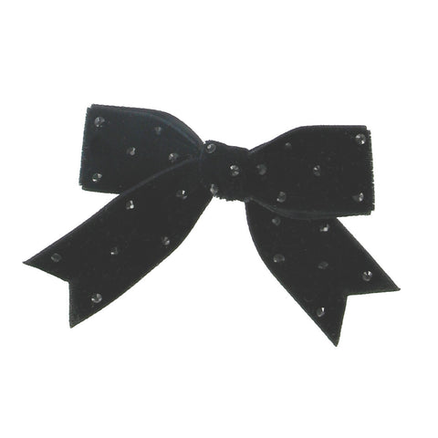 Velvet Bow Anywhere Clip