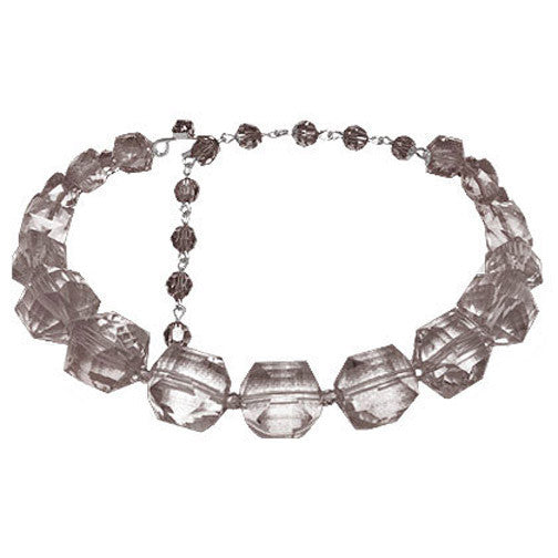 Single Row Lucite Choker