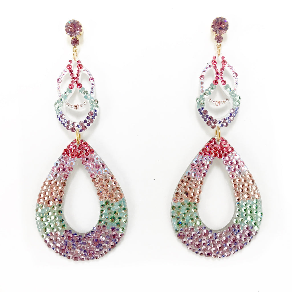 Crystal Canyon Earrings