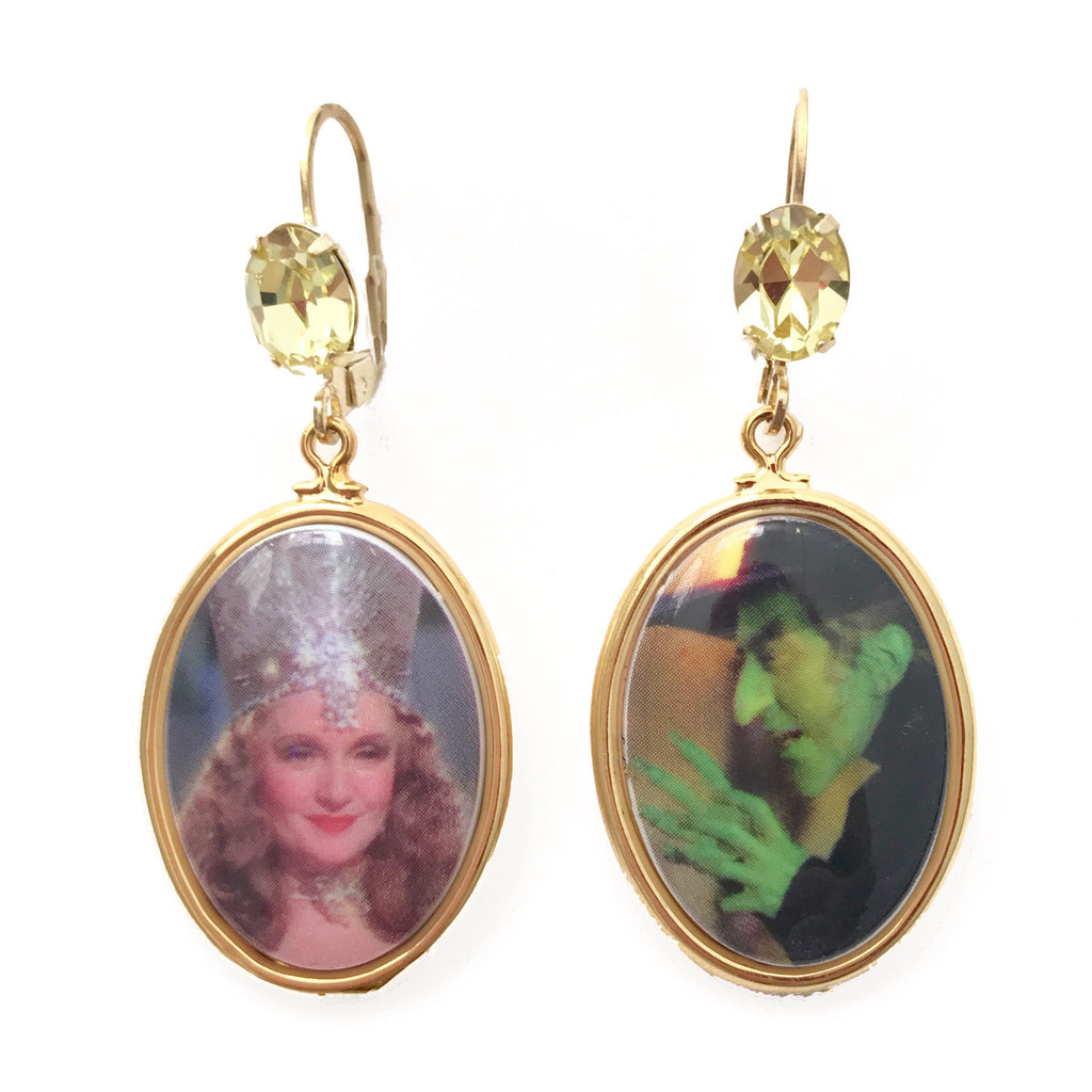 Good Witch Bad Witch Earrings