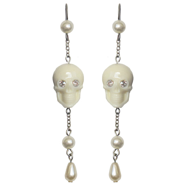 The Ghost Earrings