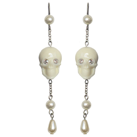 """The Ghost"" Drop Earrings"