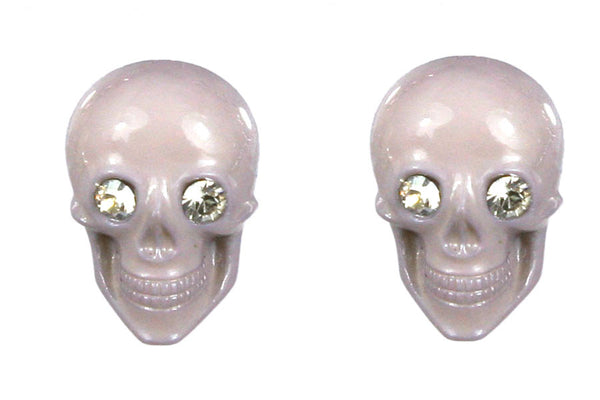 Skull Post Earrings