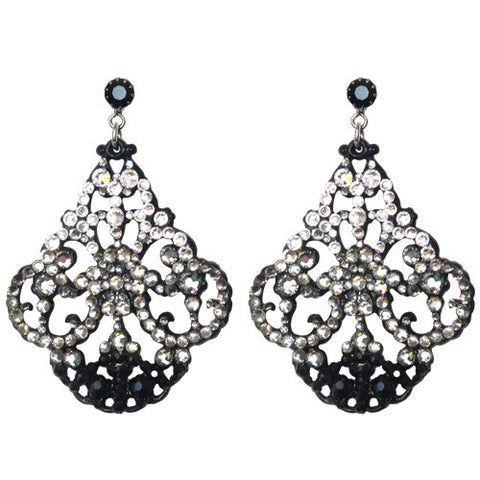 """Alexandria"" Micro-Pave' Earrings"