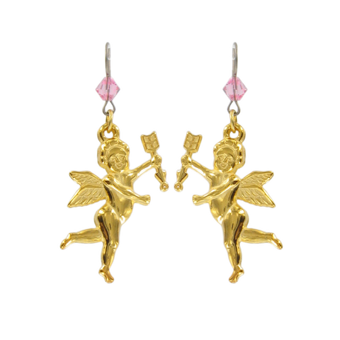 Love Angel Earrings