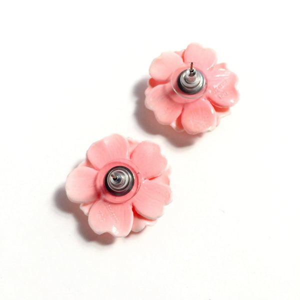 Dahlia Post Earrings