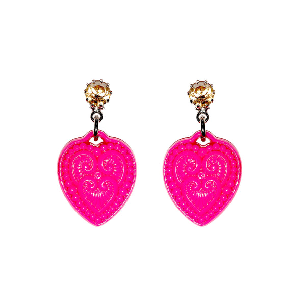 Lucky Heart Earrings